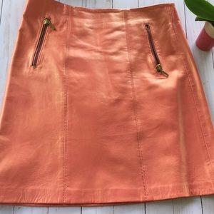 Cache peach pearl skirt